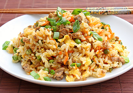 Authentic Pork Fried Rice Recipe Fried rice: it's quick,